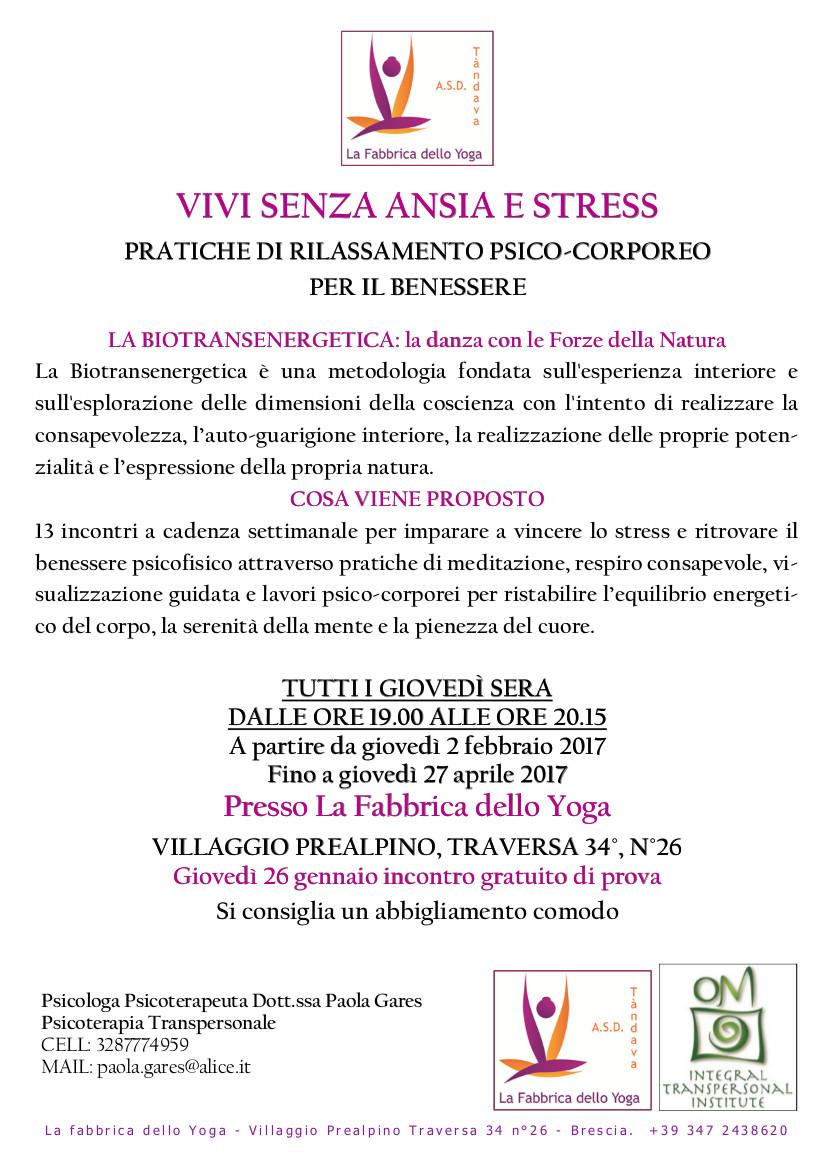 vivi senza ansia e stres fabbrica dello yoga